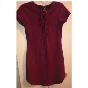 Windsor burgundy dress